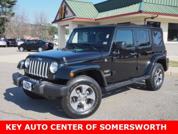 2016 Jeep Wrangler in Somersworth, NH