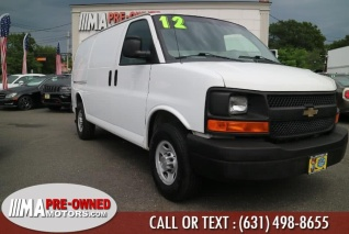 Used 2012 Chevrolet Express Cargo Vans For Sale Truecar
