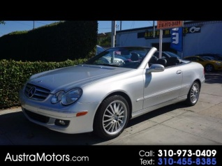 Used 2009 Mercedes Benz CLK CLK 350 Cabriolet For Sale In Lawndale, CA