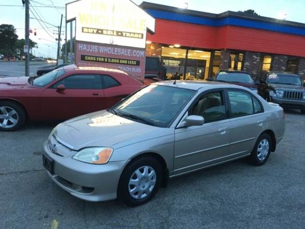 2003 Honda Civic Continuously Variable Transmission (CVT) Hybrid Sedan