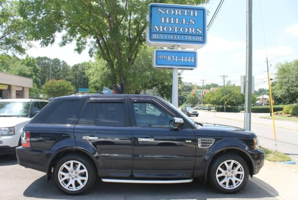 used land rover range rover sport for sale in durham nc. Black Bedroom Furniture Sets. Home Design Ideas