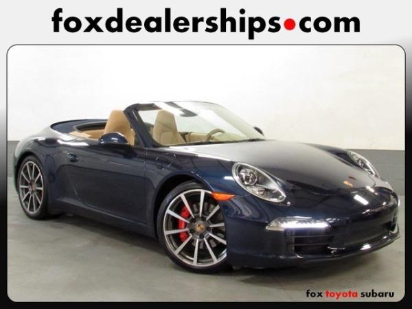 2014 porsche 911 carrera s cabriolet for sale in auburn ny truecar. Black Bedroom Furniture Sets. Home Design Ideas