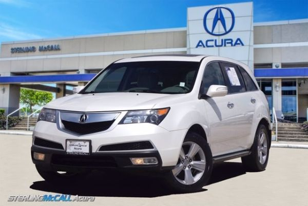 2011 Acura MDX with Entertainment/Technology Package