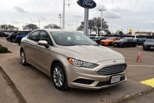 2017 Ford Fusion in Lubbock, TX