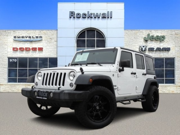 2016 Jeep Wrangler in Rockwall, TX