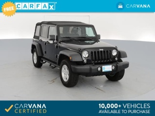 Used 2017 Jeep Wrangler Unlimited Sport For Sale In Dallas, TX