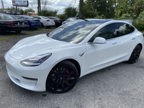 Tesla Model 3 Awd >> 2019 Tesla Model 3 Long Range Awd For Sale In Orlando Fl