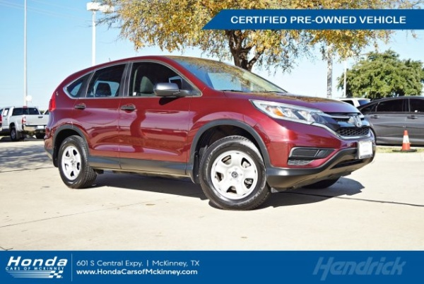 2015 Honda CR-V in McKinney, TX