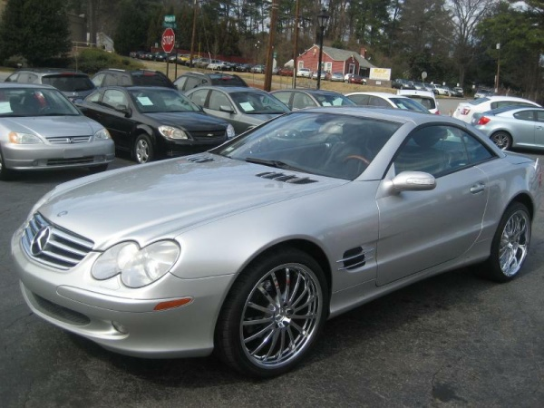 Used mercedes benz sl for sale in roswell ga u s news for Mercedes benz roswell
