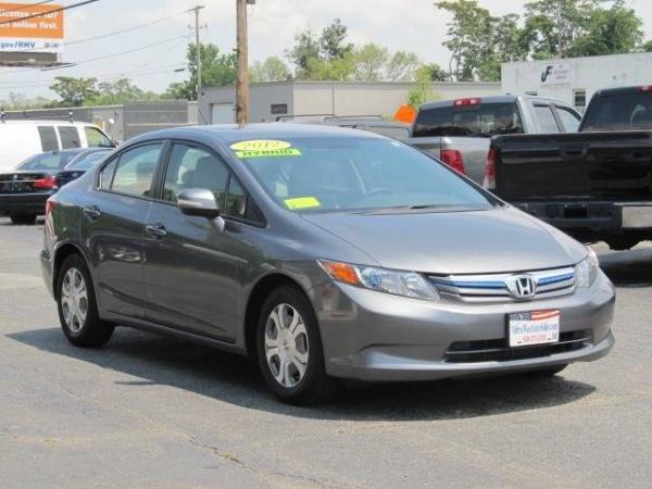 2017 Honda Civic Hybrid Sedan I4 Cvt