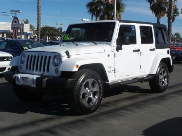 2016 Jeep Wrangler in Ventura, CA