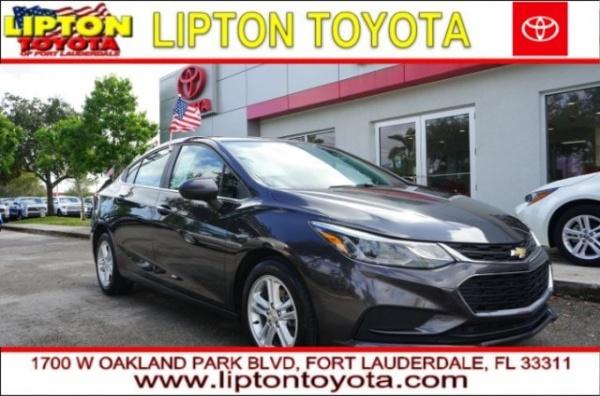 2016 Chevrolet Cruze in Fort Lauderdale, FL