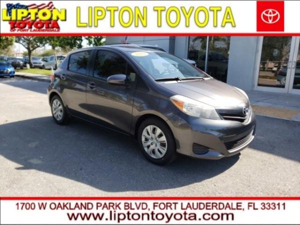 2013 Toyota Yaris in Fort Lauderdale, FL