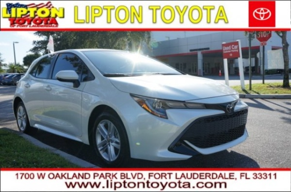 2019 Toyota Corolla Hatchback in Fort Lauderdale, FL