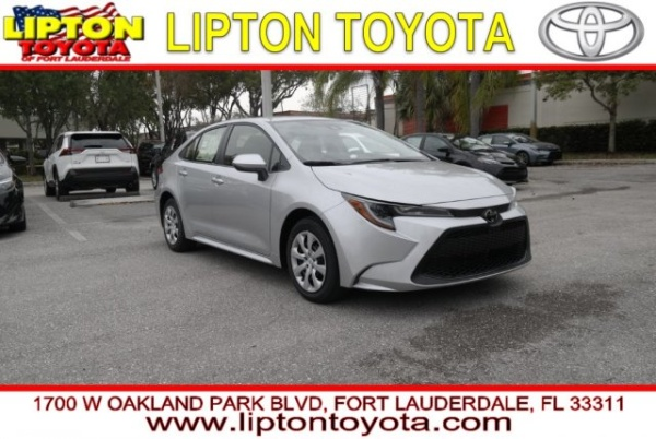 Toyota Dealership Fort Lauderdale >> 2020 Toyota Corolla Le Cvt For Sale In Fort Lauderdale Fl