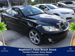 Used 2008 Lexus IS IS 250 RWD Manual For Sale In West Palm Beach, FL