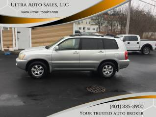 2003 toyota highlander limited v6 4wd for sale in cumberland ri truecar truecar