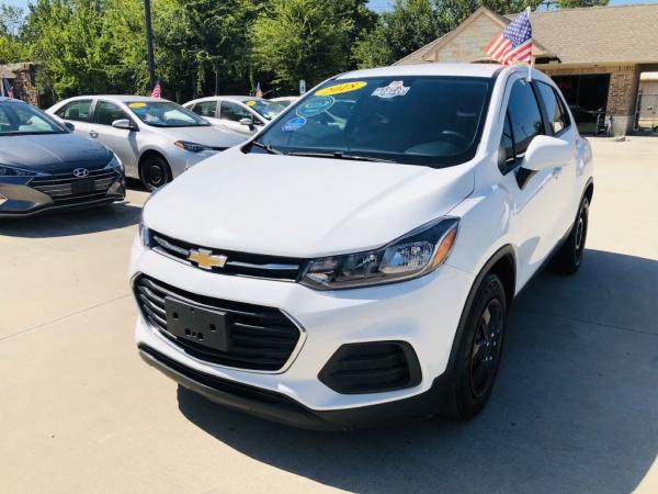 2018 Chevrolet Trax Ls Fwd For Sale In Mckinney Tx Truecar