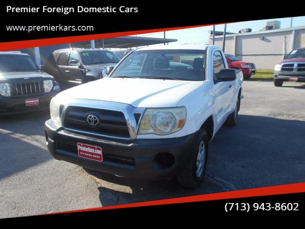 2006 Toyota Tacoma Regular Cab I4 RWD Manual