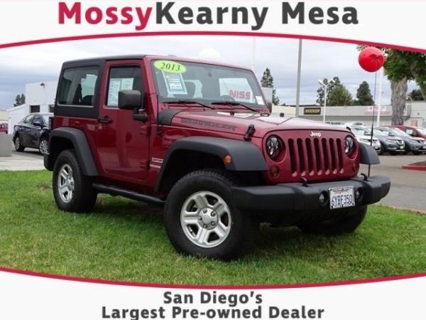 San Diego Jeep Dealers >> Jeep Wrangler