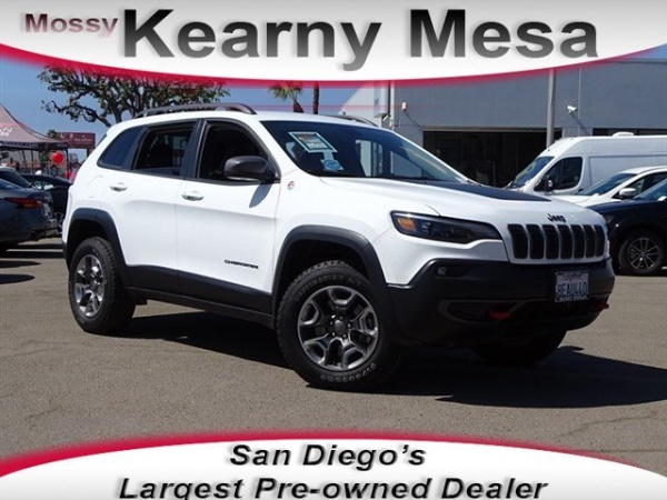 Jeep Dealership San Diego >> 2019 Jeep Cherokee Trailhawk 4wd For Sale In San Diego Ca