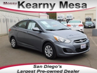 Used 2016 Hyundai Accent SE Sedan Automatic For Sale In San Diego, CA
