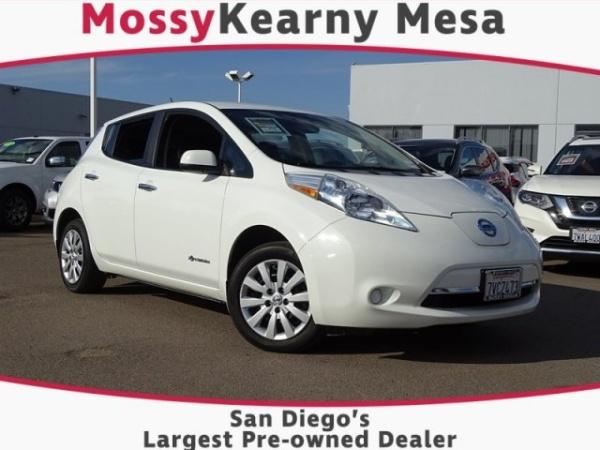 Nissan Dealership San Diego >> 2016 Nissan Leaf S Alt For Sale In San Diego Ca Truecar