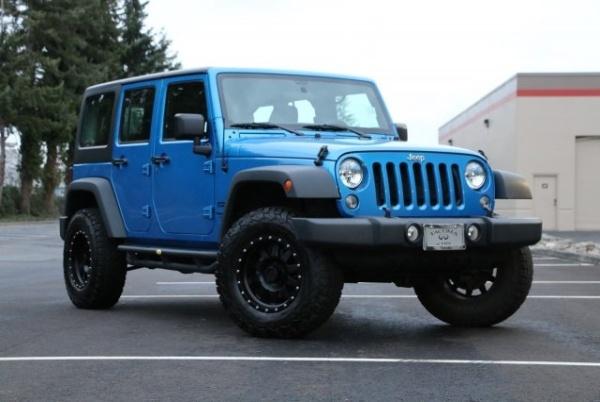 2016 Jeep Wrangler in Tacoma, WA