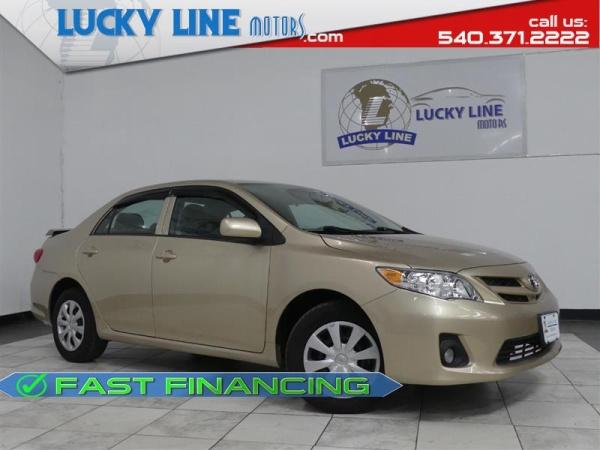 2013 Toyota Corolla in Fredericksburg, VA