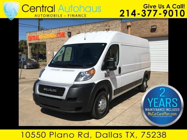2019 Ram ProMaster Cargo Van in Dallas, TX