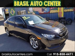 2017 Honda Civic Lx Sedan Cvt For In El Paso Tx