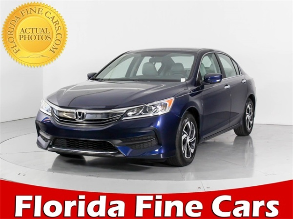 2016 Honda Accord In West Palm Beach Fl