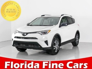 Used 2018 Toyota RAV4 LE FWD For Sale In West Palm Beach, FL