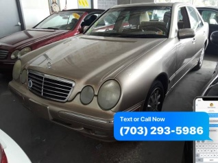 Used 2001 Mercedes Benz E Class E 320 Sedan RWD For Sale In Chantilly