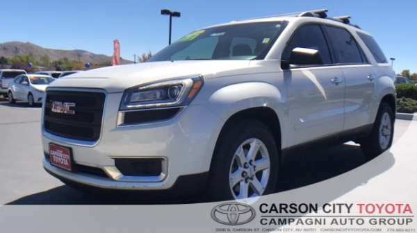 2014 gmc acadia sle with sle2 fwd for sale in carson city nv truecar. Black Bedroom Furniture Sets. Home Design Ideas
