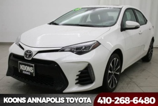 2018 Toyota Corolla Se Cvt For In Annapolis Md