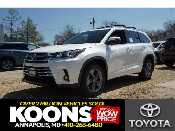 2019 Toyota Highlander Hybrid Limited Platinum