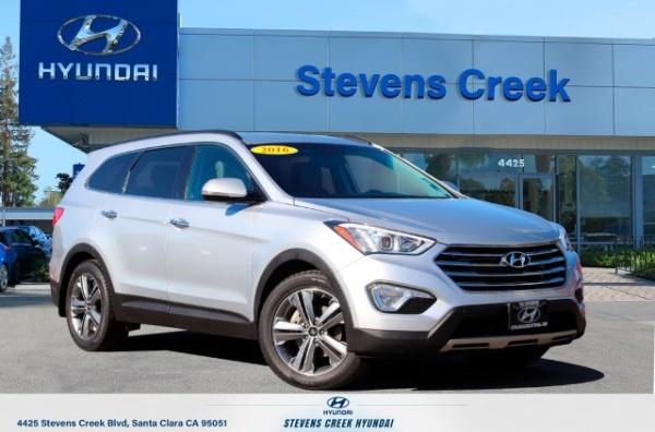 2016 Hyundai Santa Fe Limited Awd For Sale In Santa Clara Ca Truecar