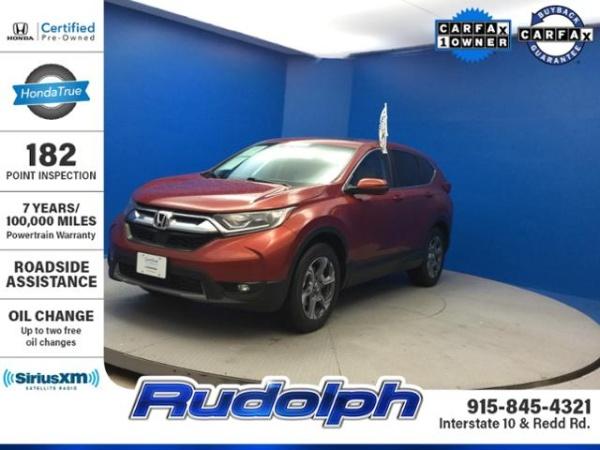 2017 Honda CR-V in El Paso, TX