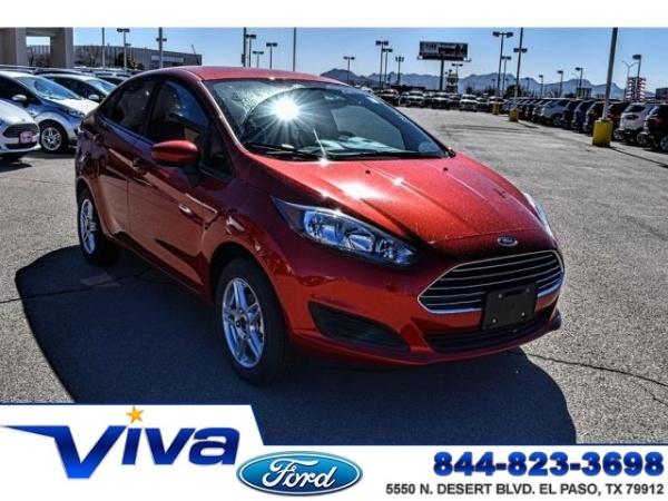 Viva Ford El Paso >> 2019 Ford Fiesta Se Sedan For Sale In El Paso Tx Truecar