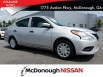 2018 Nissan Versa S Plus CVT for Sale in McDonough, GA