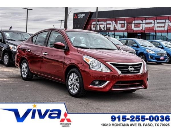 2018 Nissan Versa in El Paso, TX