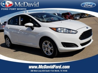 Used 2014 Ford Fiesta SE Hatchback For Sale In Ft Worth TX