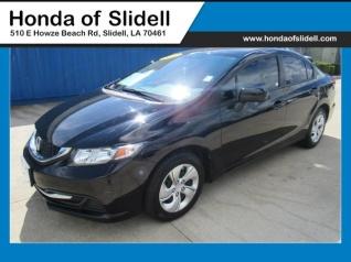 Used 2015 Honda Civic LX Sedan CVT For Sale In Slidell, LA