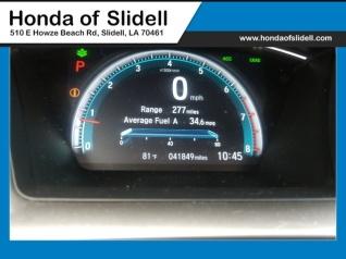 Used 2016 Honda Civic EX T With Honda Sensing Sedan CVT For Sale In Slidell