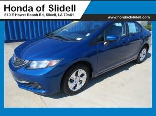 Good Used 2015 Honda Civic LX Sedan Manual For Sale In Slidell, LA