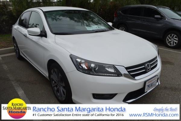 2017 Honda Accord In Rancho Santa Margarita Ca