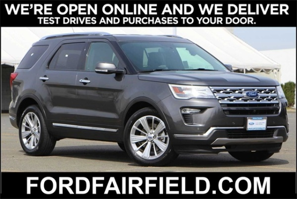2019 Ford Explorer in Fairfield, CA