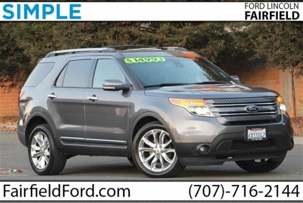 2013 Ford Explorer in Fairfield, CA