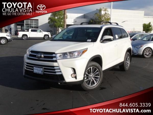 2019 Toyota Highlander in Chula Vista, CA